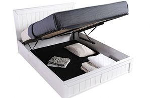 Chandler Wooden white Ottoman Bed by Sweet Dreams