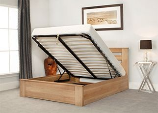 Charnwood Wooden Ottoman Bed, by Emporia Beds