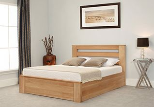 Charnwood Wooden Wood Ottoman Bed King Size