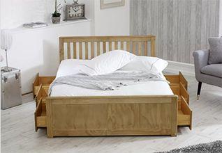 Larksville Storage Bed Frame, by Three Posts