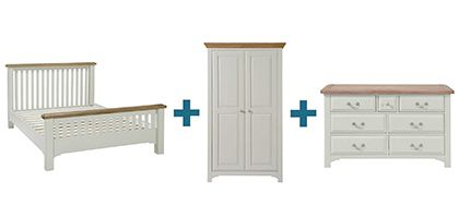 SOMERTON BEDROOM FURNITURE SET by barcker and stonehouse