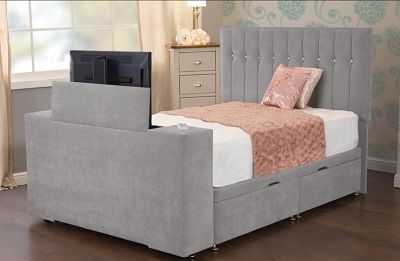 Sweet Dreams Image Sparkle Ottoman TV Bed