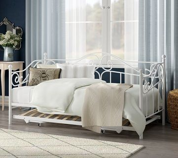 Amberboi Daybed with Trundle, by Fleur De Lis Living