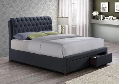 Valerie Upholstered Storage Bed, by Wrought Studio