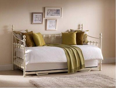 Versailles Guest Single Day Bed, by Julian Bowen