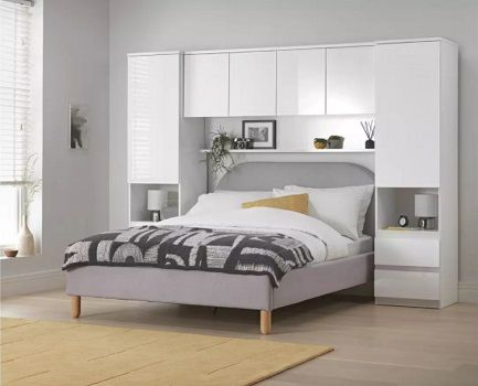 Argos Home Jenson Gloss Overbed Unit