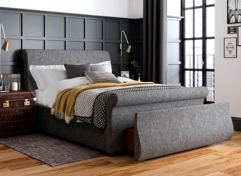 Detroit Upholstered Sleigh Bed Frame Reviews