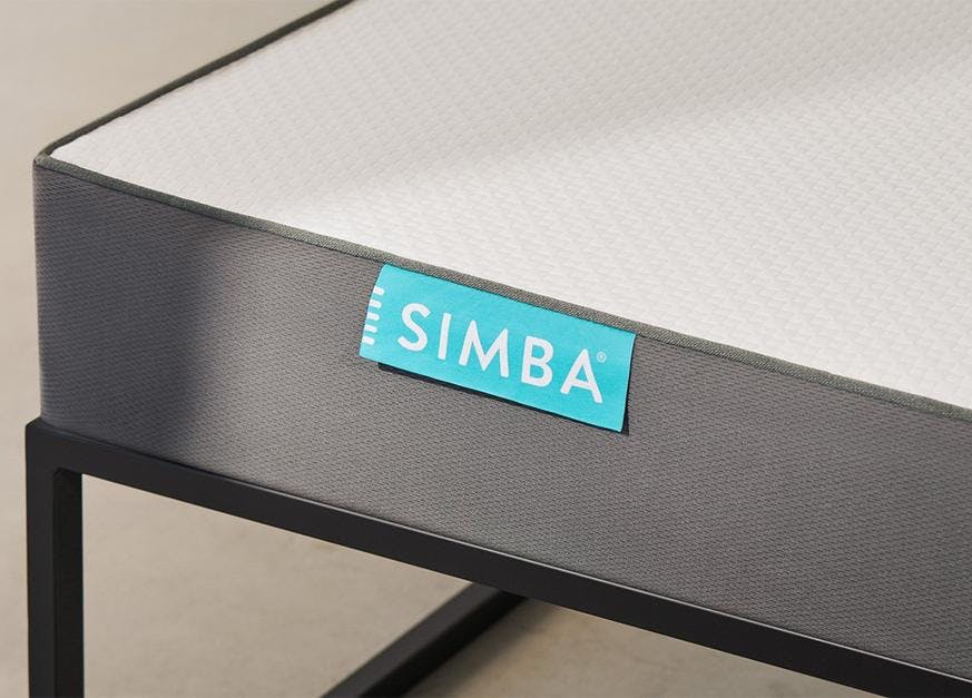 simba hybrid bunk bed mattress composition
