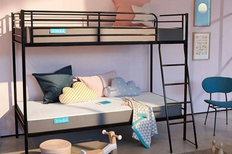 simba hybrid bunk bed mattress review