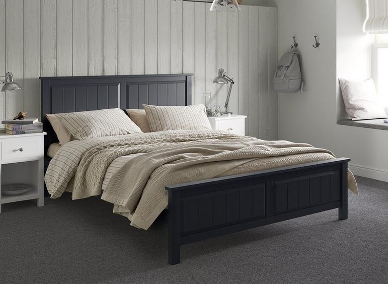woodbridge bed in charcoal