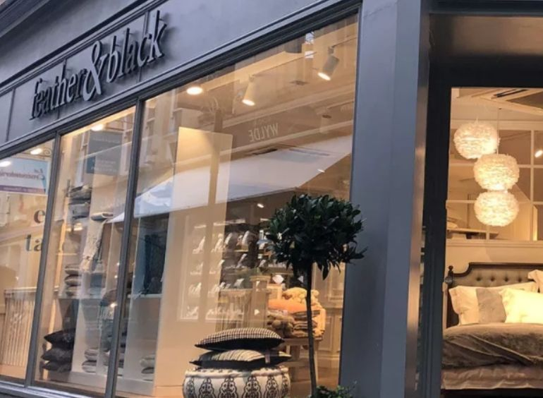 Dreams Opens Feather & Black Showroom in Hedge End
