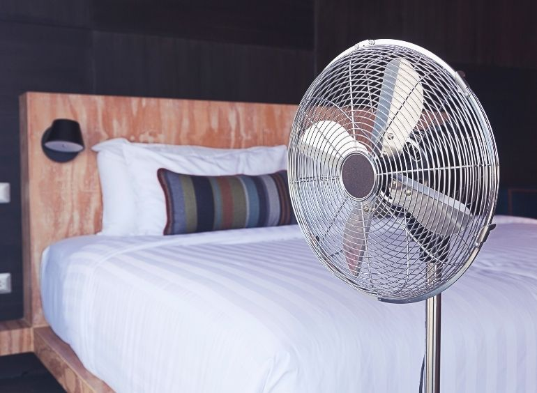"""Study Shows """"Don't Sleep with Fan On All Night"""""""