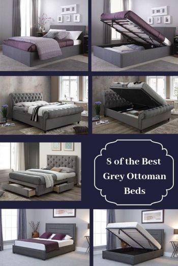 Best Grey Ottoman Beds